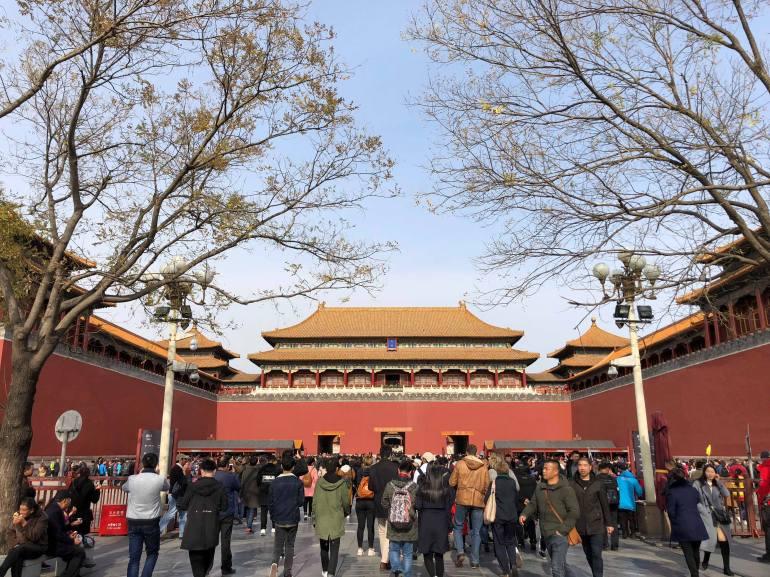 chine - pekin - cité interdite